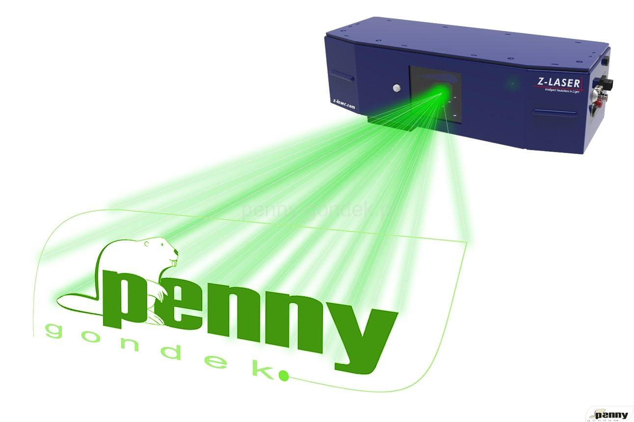 projektor laserowy