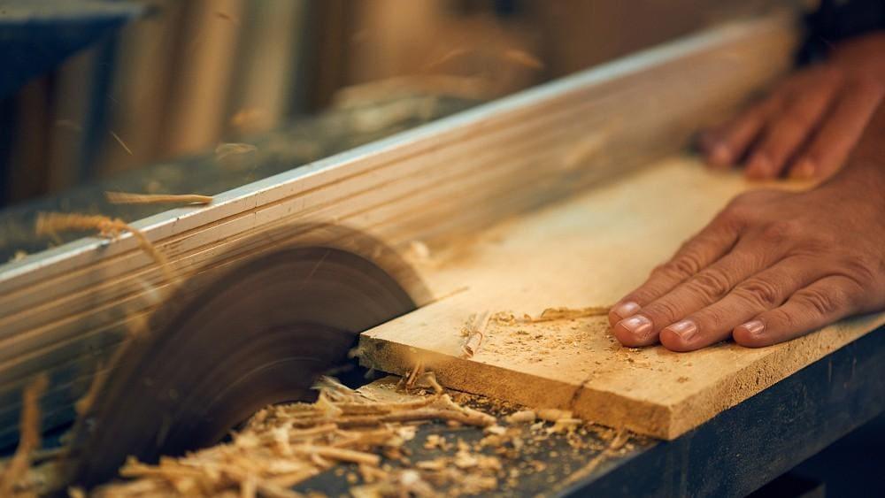 obróbka drewna