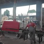 Dostawa i uruchomienie pilarki PWR 421 z silnikiem 90kW
